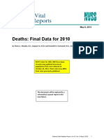 Deaths Final Data_2010_Natl Vital Stats Rpt_61_04
