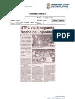 Informe de prensa semana del 19 al 26 de julio de 2013