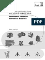 Manual de motoreductores