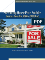 Preventing House Price Bubbles