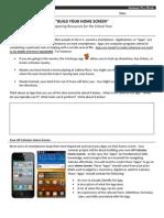 ap calc summer prework - build your home screen