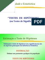Aula 20-Teste de Hipoteses (Significancia)