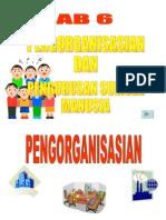 Bab 6 Pengorganisasian