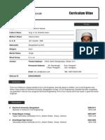 CV of Engr. K. M Enamul Hassan