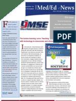UA OMSE Med/Ed eNews v1 No. 10 (JUL 2013)