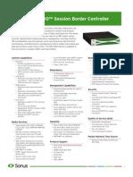 SBC 5200 Datasheet