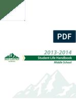 2013-2014 Ben Lippen Middle School Student Life Handbook