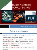 Actividades económicas y sectores de producción