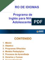 Program Presentation 2011
