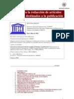 Guia Para La Redaccion de Articulos Cientificos Destinados a La Publicacion
