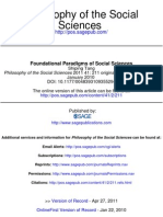 Foundational Paradigms of Social Sciences (39)