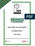 Relatório de Avaliação da Biblioteca da Escola Secundária Dr. Jorge Augusto Correia, Tavira