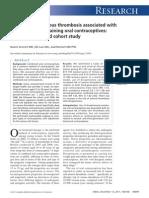Drospirenone and Pulmonary Embolism