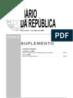 Lei Orgânica n.º 1-A2009 - Lei de Defesa Nacional