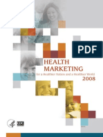 Health Marketing at CDC Report 2008