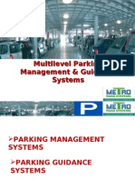 Multilevel Parking Management & Guidance Systems PARKING MANAGEMENT SYSTEMS