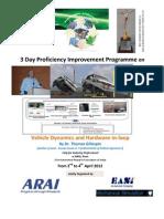 Brochure Vehicle Dynamics Industry