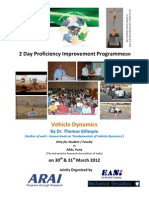 Brochure - Vehicle Dynamics for Students & Faculty 30310312