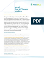 Advanced Internal Controls for Your AP Invoice Processing Function