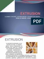 EXTRUSION presentación