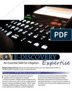 E Discovery Expertise