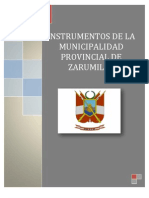 ORGANIZACIÓN ADMINISTRATIVA DEL GOBIERNO LOCAL DE ZARUMILLA