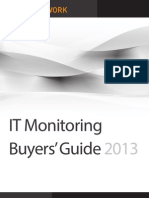 IT Monitoring Buyers' Guide_2013