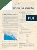 Baker 2 Phase Flow
