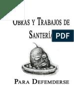 Trabajos Santeria