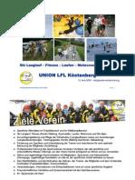 Ziele der UNION LFL Köstenberg Mai 2009