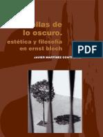 Huellas de Lo Oscuro Estetica Filosofia Ernst Bloch
