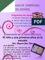 ESTRATEGIAS DE  ENSEÑANZA DEL ESPAÑOL