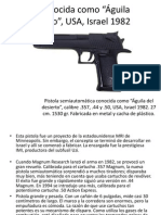 Armas de Fuego (Diapositivas)