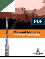 Manual Instalacion OPGW