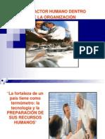 El Factor Humano en Las Organizaciones- Diapositivas PDF (1)