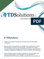 Apresentação TDSolutions V.2