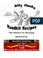 Hillbilly Hanks Roadkill Recipes