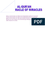 Al Qur'an the Miracle of Miracles 2
