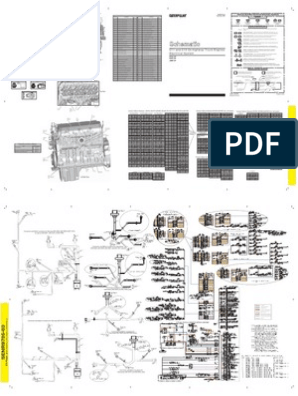 Diagrama Electrico Del Motor C11 - C13 CATERPILLAR | Fuel