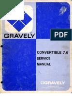 Convertible 76 Serv Man 1972