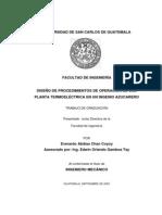 Manual Caldera Bagacera Termoelectrica