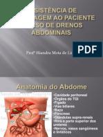 Drenos abdominais