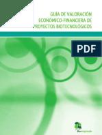 Guia ValoracionEconomica ProyectosBIO