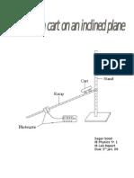 IB Physics, Inclined Plane