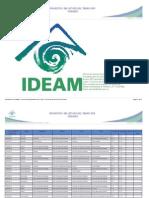Prono Ciudades Tres Dias IDEAM 17-6-2013