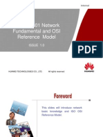 001 Network Fundamental and OSI Reference Model ISSUE1.0