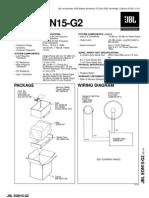 EON 15 G2 Service Manual