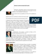 Presidentes Constitucionales Del Ecuador 55