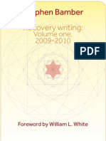 Bamber--Recovery Writing Volume One 2009 2010