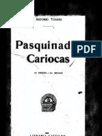 Torres, Antonio - Pasquinadas Cariocas (1922)